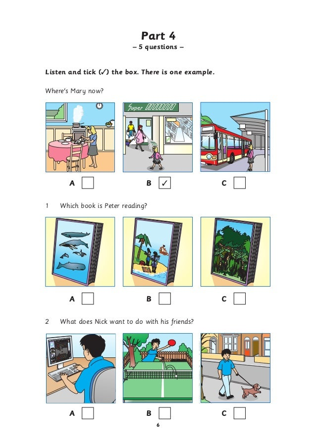 Tổng hợp đề thi movers ( reading and writing speaking-listening)