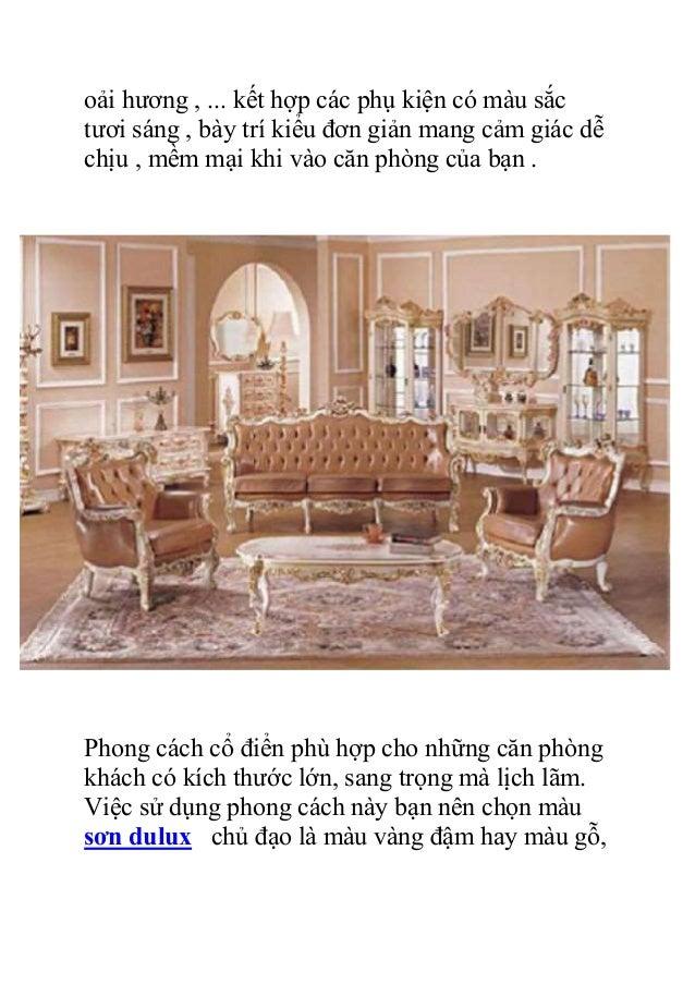 ý Tưởng mới cho phòng khách nhà bạn Slide 2