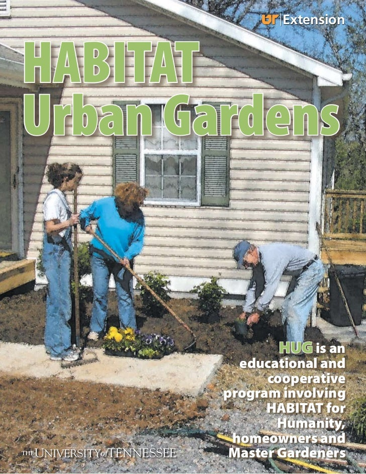 ExtensionHABITATUrban Gardens               HUG is an          educational and              cooperative        program inv...