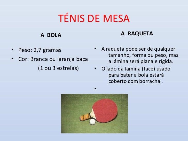 0fc328dd96 Ténis de Mesa - Regras de jogo