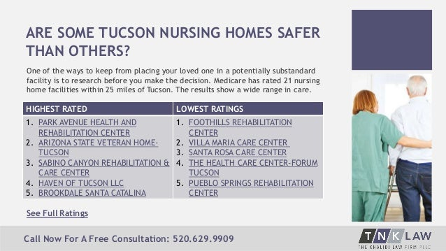 5 ARE SOME TUCSON NURSING HOMES