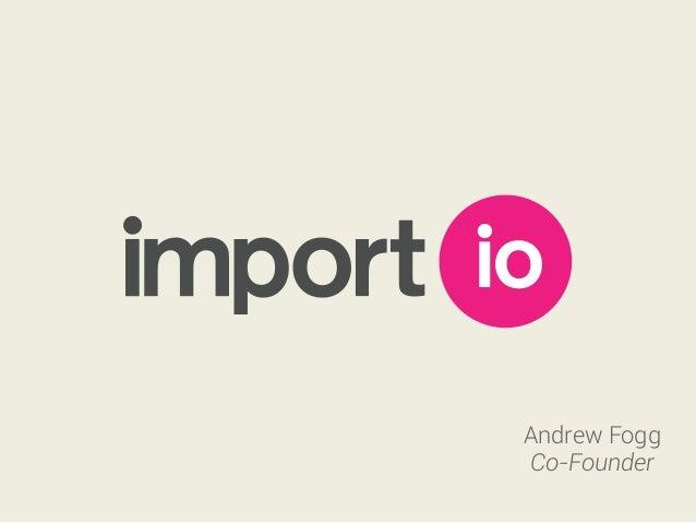 Andrew Fogg Co-Founder