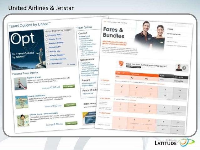 United Airlines & Jetstar