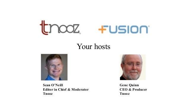 Tnooz-Fusion FREE webinar: The science behind ancillary merchandising Slide 2
