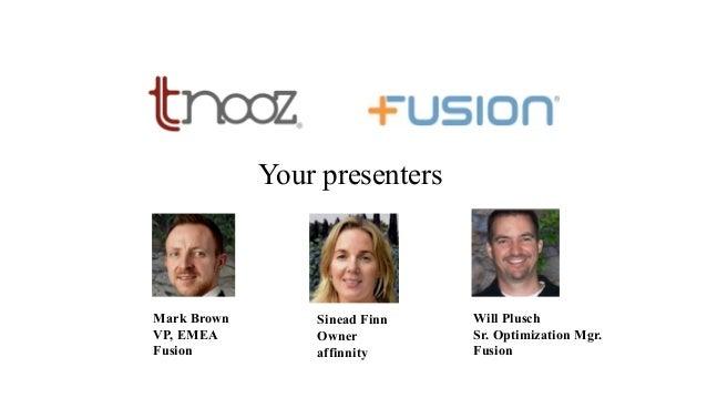 Tnooz-Fusion FREE webinar: The science behind ancillary merchandising Slide 3