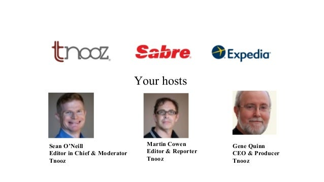 Tnooz/Sabre/Expedia free webinar: Understanding the next wave of mobile and travel Slide 2