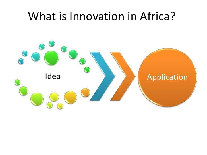 What is Innovation in Africa?<br />