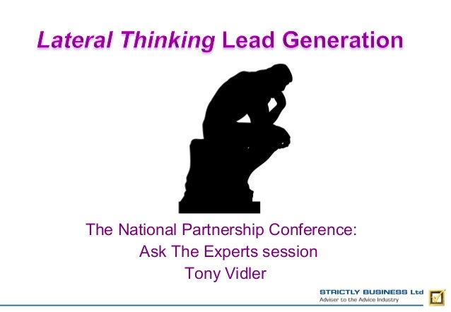 The National Partnership Conference: Ask The Experts session Tony Vidler