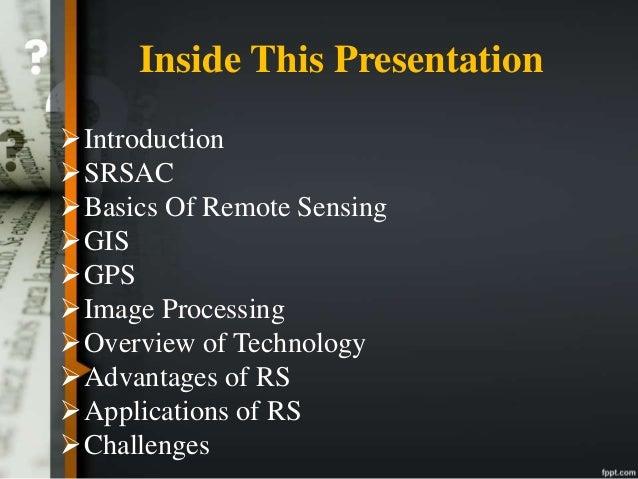 Remote sensing andgis. Ppt video online download.