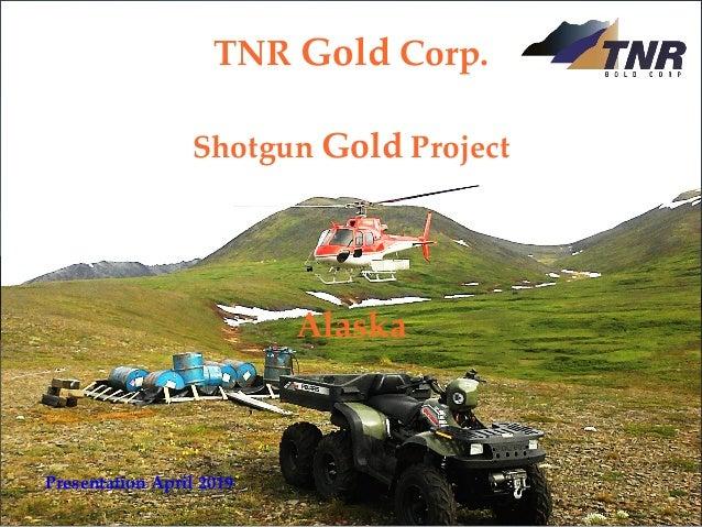 TNR Gold Corp. Shotgun Gold Project August 2018 TSXV: TNR www.tnrgoldcorp.com TNR Gold Corp. Shotgun Gold Project Presenta...