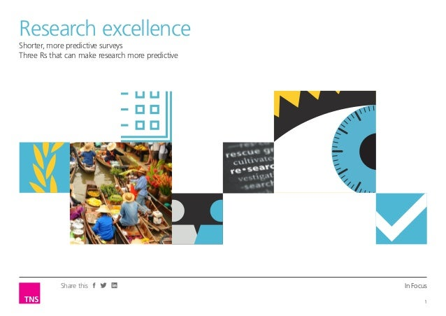 In Focus 1 Share this Shorter, more predictive surveys Three Rs that can make research more predictive Opinion LeaderResea...