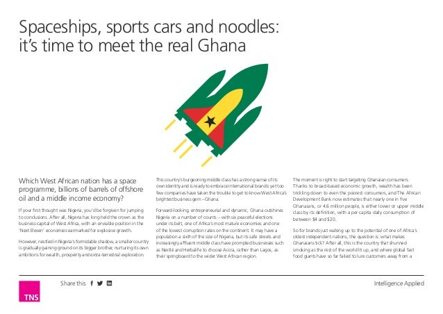 Spaceships, sports cars and noodles: it's time to meet the real Ghana  Which West African nation has a space programme, bi...