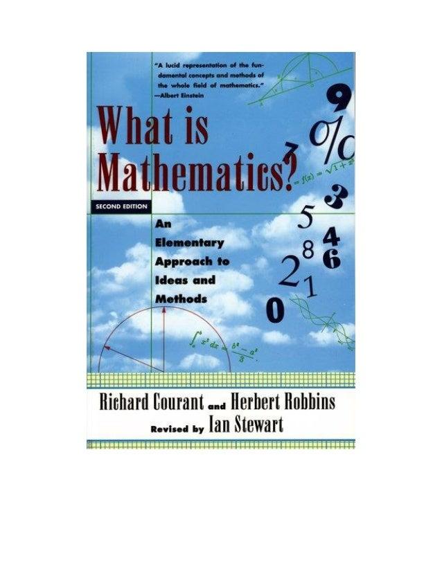 Tên sách: Toán học là gì? – Tập 1 Tác giả: R. Courant, H. Robbins Nhà xuất bản: Nhà xuất bản Khoa học và Kỹ thuật Năm xuất...