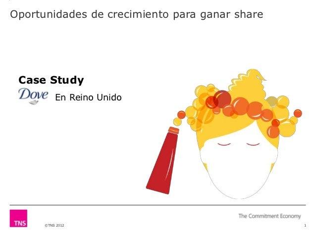 Oportunidades de crecimiento para ganar share Case Study          En Reino Unido      ©TNS 2012                           ...