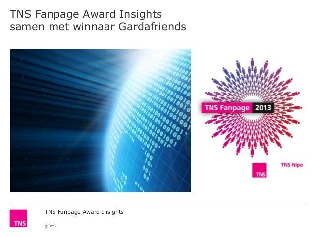 TNS Fanpage Award Insights© TNSTNS Fanpage Award Insightssamen met winnaar Gardafriends