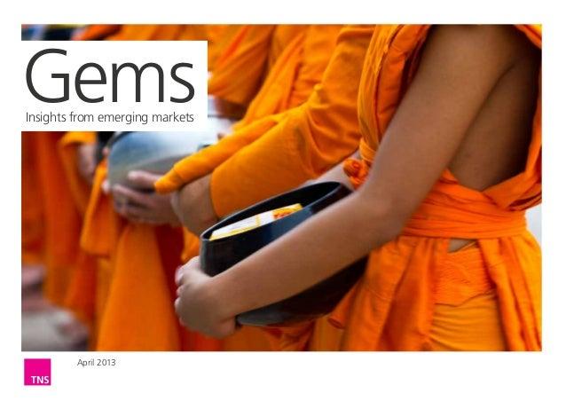 GemsInsights from emerging markets         April 2013