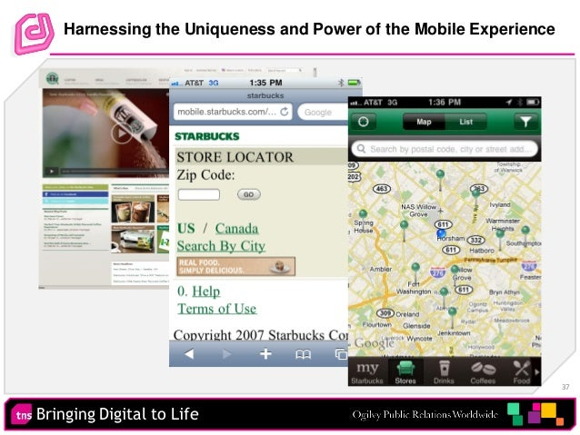 Bringing Digital to Life 37 Harnessing the Uniqueness and Power of the Mobile Experience