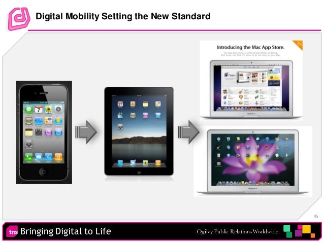 Bringing Digital to Life 45 Digital Mobility Setting the New Standard