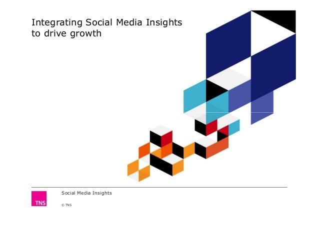 Integrating Social Media Insightsto drive growthSocial Media Insights© TNS