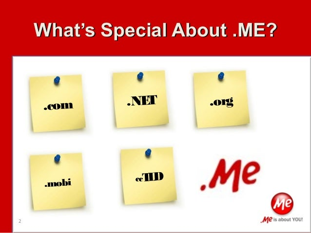 Personalize Your App with .ME! Slide 2