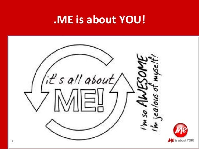 Personalize Your App with .ME! Slide 3