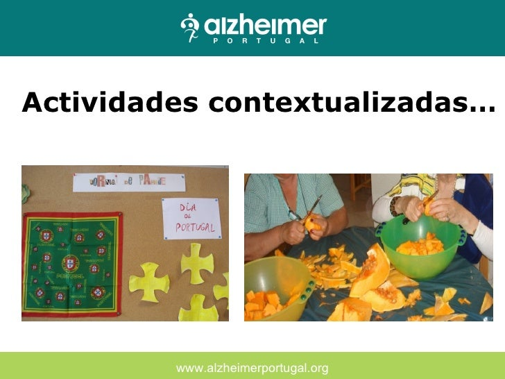 Favoritos TERAPIA OCUPACIONAL - Alzheimer Portugal QT25