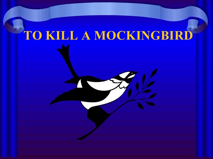 major symbols in to kill a mockingbird