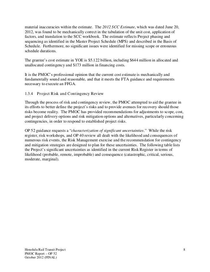 Pmoc Readiness Report Oct 2012
