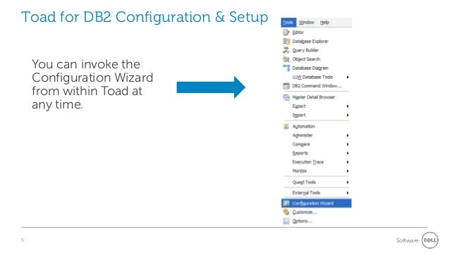 Toad for db2 tips tricks 4 software 5 toad for db2 configuration ccuart Image collections
