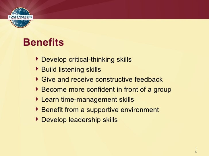 benefits of developing critical thinking skills Developing critical thinking the key to critical thinking is to develop an impersonal approach which looks which will help develop your thinking skills.