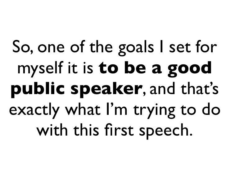 ice breaker speech examples