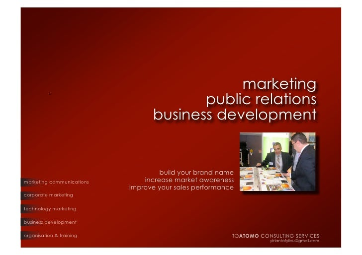 marketing                                         public relations                                  business development  ...