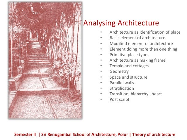 Toa unit 4 analysing architecture