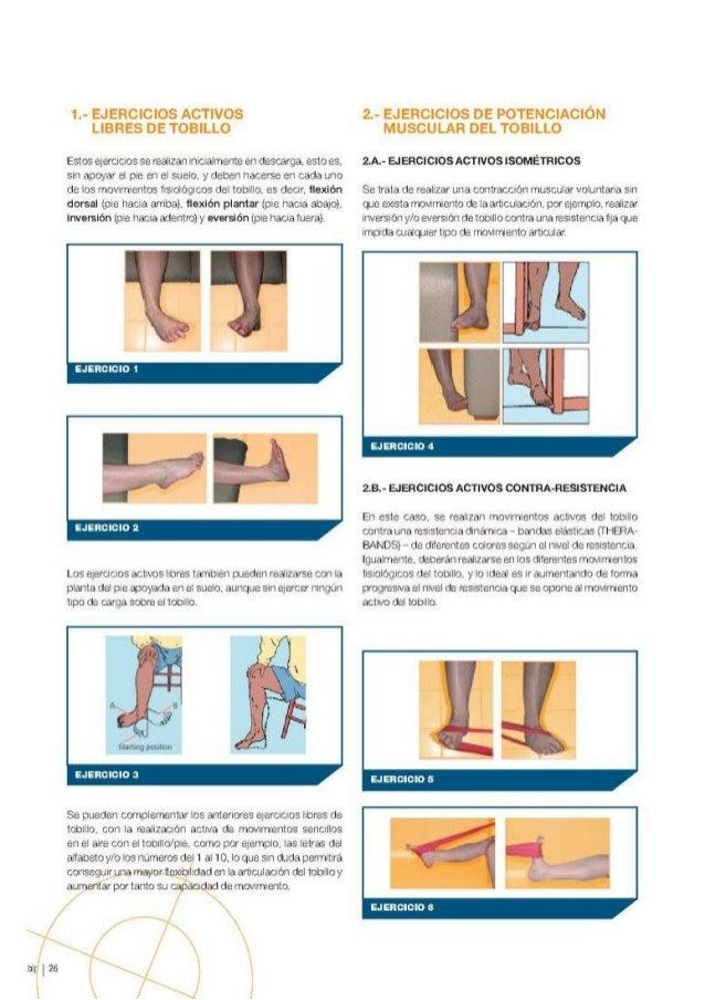 Programa de Ejercicios en la Rehabilitación de la Patología del Tobillo Slide 3