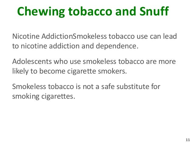 Smokeless Alternatives