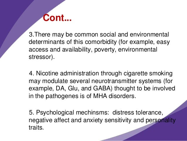 factors that increase sensitivity to nicotine dependence While related research on underlying mechanisms also supports the idea that genetic factors contribute to nicotine dependence sensitivity to nicotine.