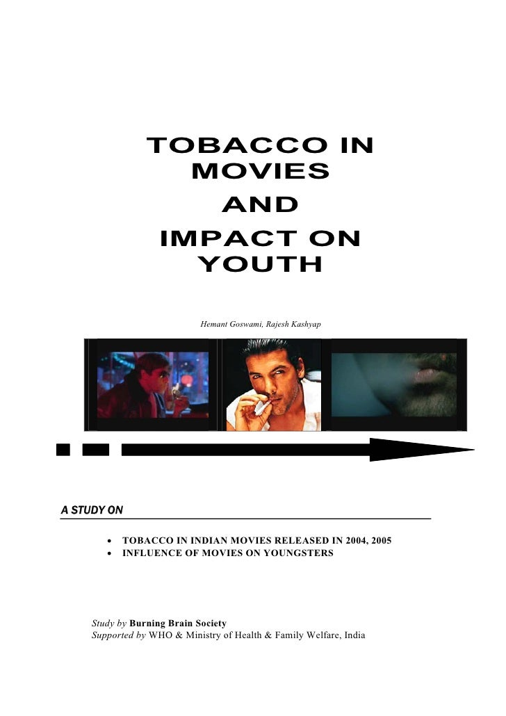 TOBACCO IN                   MOVIES                                  AND                   IMPACT ON                     Y...