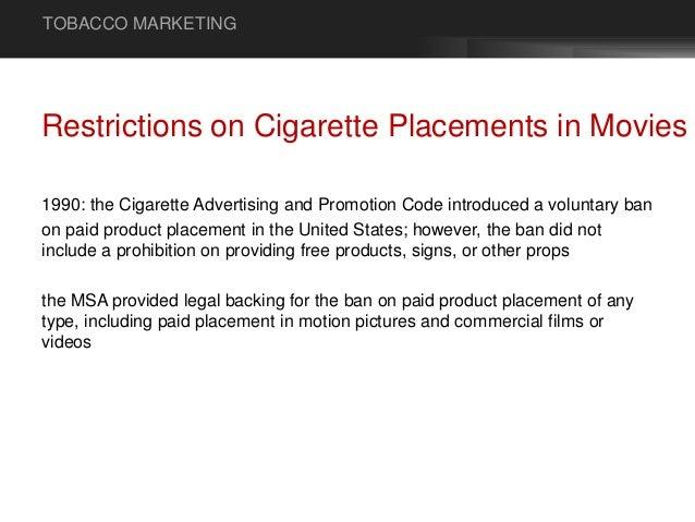 Tobacco Marketing - Types of Advertisement & Advertising
