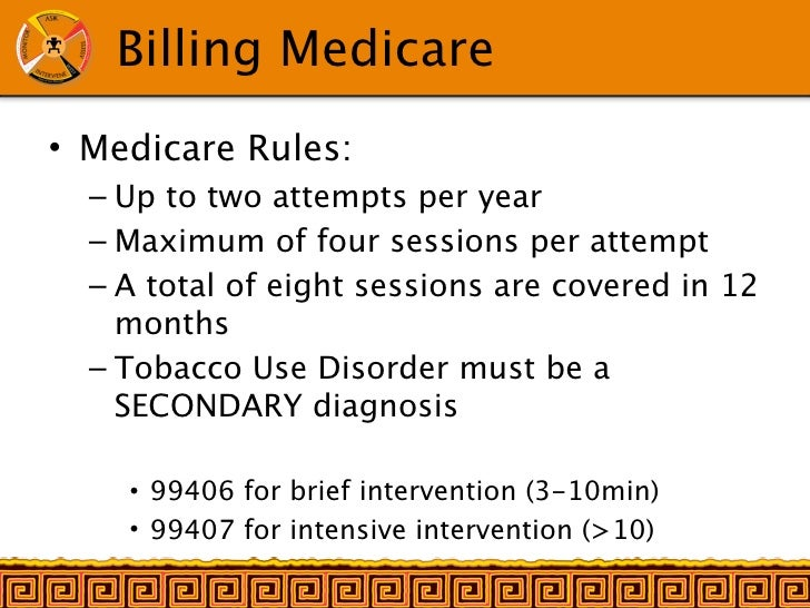 Sixth image of Cpt 99397 Per Medicare Guidelines with IHS Tobacco 5As presentation in NAO
