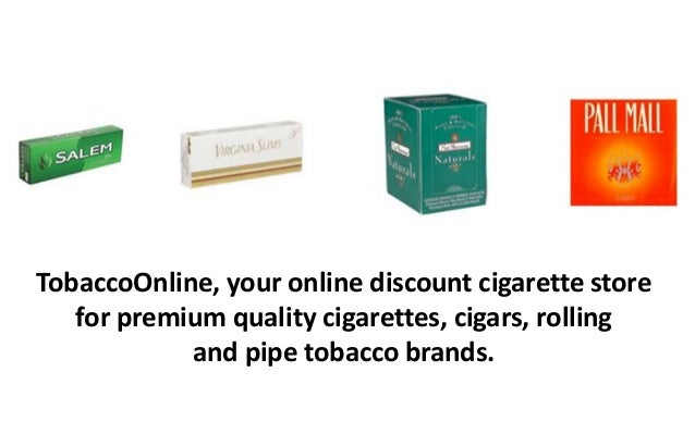 Shop Quality Cigarettes at Tobacco Online