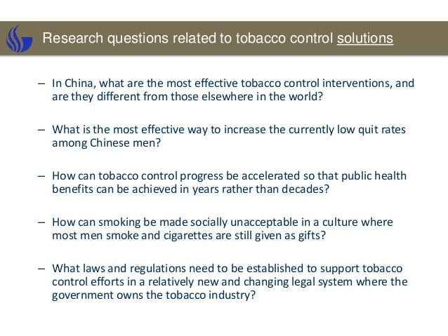 tobacco research The ontario tobacco research unit (otru) is a canadian leader in tobacco control research, monitoring and evaluation, teaching and training, and is a respected source .