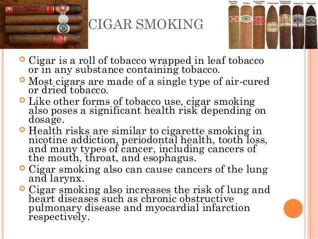 smokers nicotine and effect form smoking