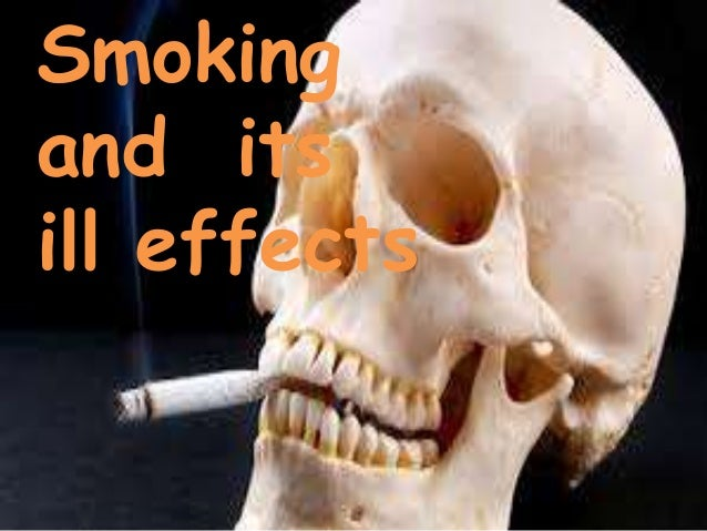 Smoking and its effect on society