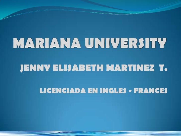 JENNY ELISABETH MARTINEZ T.   LICENCIADA EN INGLES - FRANCES