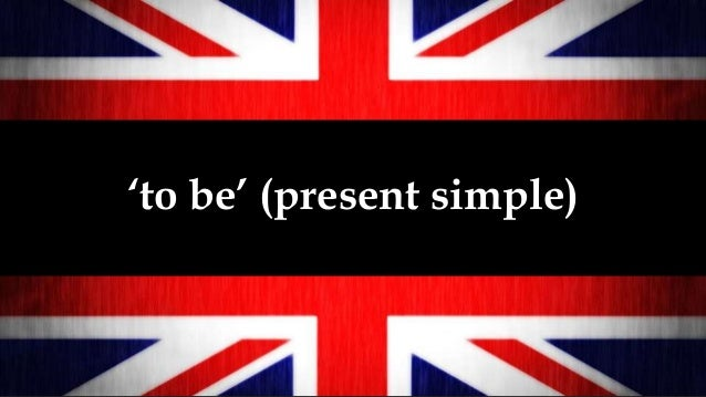 'to be' (present simple)
