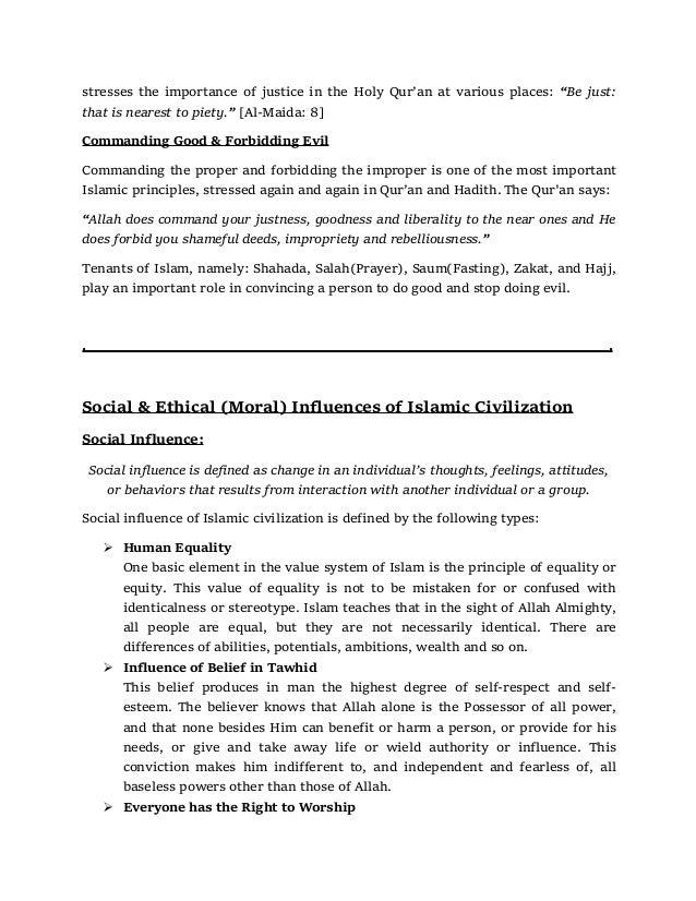 Importance & Significance of Islamic Civilization Slide 3