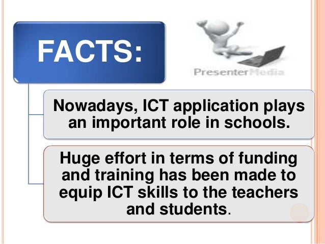 the role of ict in improving Paper argues the role of ict in transforming role of information communication technologies in education will be helpful to improve qualify and flexibility.