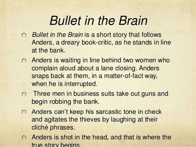 bullet in the brain short story