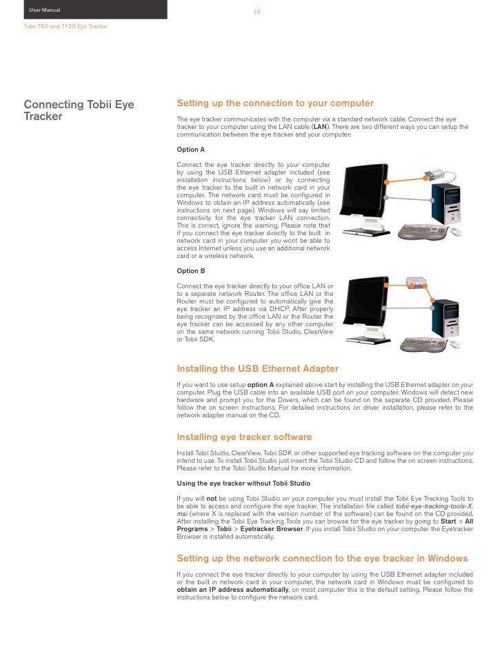 Tobii T60 T120 User Manual
