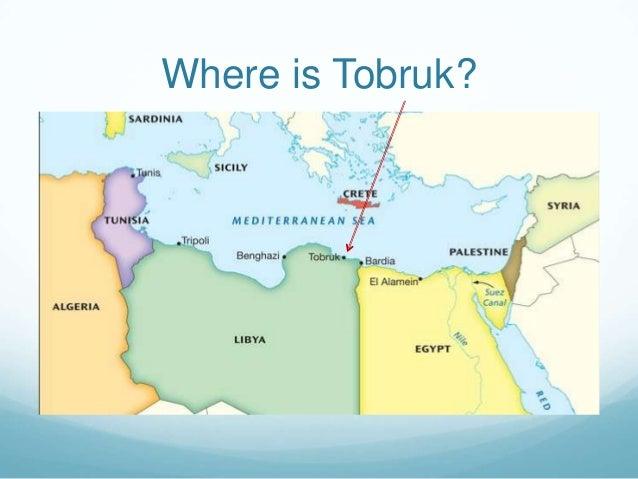 Where is Tobruk?